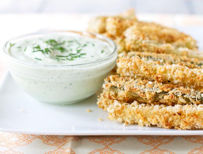 Crispy Zucchini Fritté